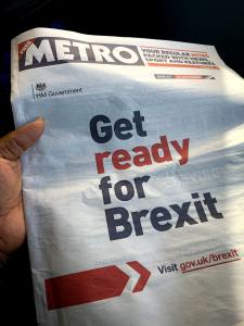 Brexit giornale